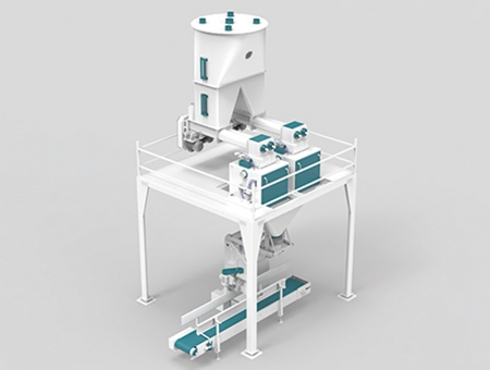 Flour Packing Machine 25-50 kg Double Weigher