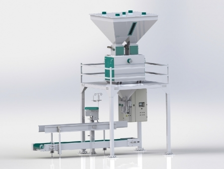 Grain Packing Machine Single-Double Weigher